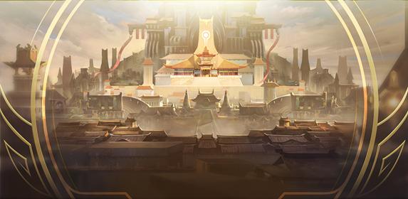 王者世界中的第一个区域 大唐长安城揭开神秘面纱