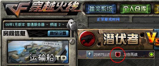 戰隊徽章在游戲內顯示