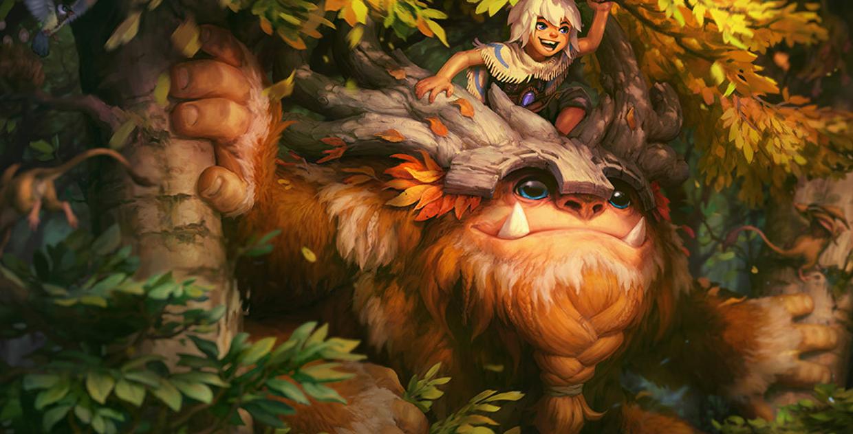 荒野巨兽 努努和威朗普