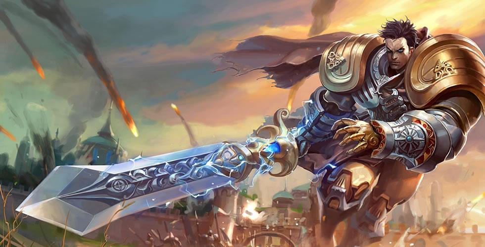 黄金骑士 盖伦
