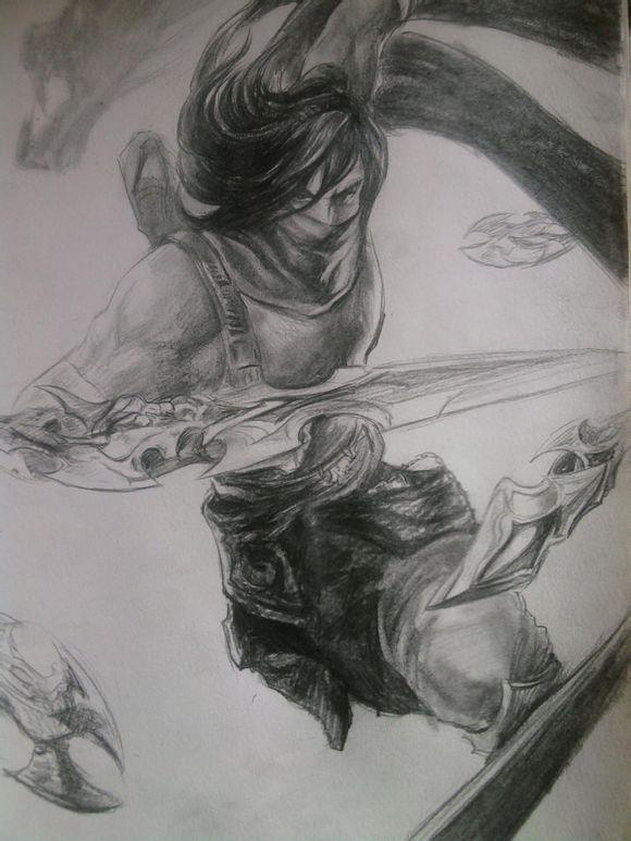 玩家手繪英雄鉛筆畫 果斷點了32個贊