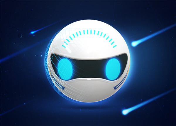圖3 微寶智能球型機器人充滿科技感的外形設計.jpg