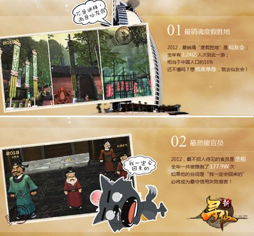 qq寻仙财产密码_时光明信片带你回顾《新寻仙》的2012-新寻仙官方网站-腾讯游戏